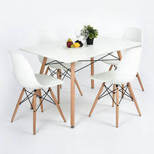 Retro Dining Table And Chairs Eames Dining Table Ebay