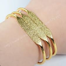 cuff bracelet gold plated images Wholesale gold plated brass blank bangle settings golden flat cuff jpg