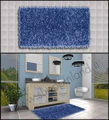 tappeti bagni moderni tappeti shaggy economici per il bagno per arredare con