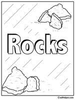 rocks and minerals theme unit printables and worksheets