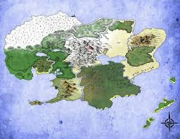 Where I Ve Been Map The Dnd Map I U0027ve Been Working On For My Campaign What Does R Dnd