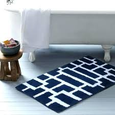Navy Bath Mat Navy Blue Reversible Bath Rugs Rugs Design