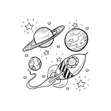 doodle galaxy invaders best 25 space illustration ideas on planet design