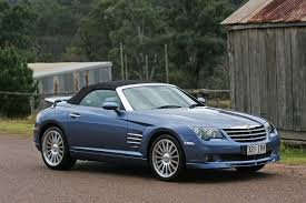 chrysler crossfire srt6 roadster au spec 2005 cars wallpaper
