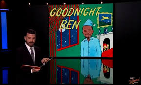 ben carson presidential bid jimmy kimmel says goodbye to ben carson s republican presidential
