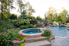 backyard swimming pools waterfalls u0026 natural landscaping nj