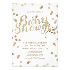 glitter baby shower invitations announcements zazzle co uk
