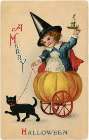 vintage sweet halloween witch image darling the graphics fairy