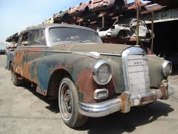 for restoration for sale 1959 mercedes 300 d dividing window project car for