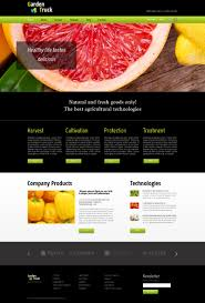 advertising template free free website template for agriculture site zoom in