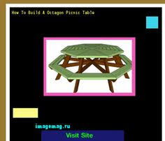 Traditional Octagon Picnic Table Plans Pattern How To Build A by Free Printable Octagon Picnic Table Plans 095922 The Best Image