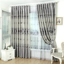 Light Gray Blackout Curtains Affordable Rose Printed Grey Living Room Blackout Curtains Light