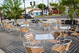 B And Q Outdoor Furniture New Orleans U0027 Essential Outdoor Dining Spots