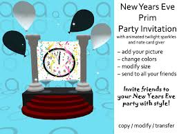 happy new year note cards second marketplace new years prim party invitation note