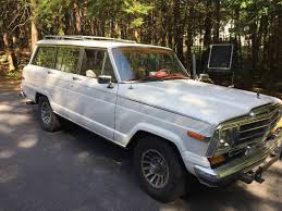 wrecked jeep cherokee hemmings find of the day u2013 1990 jeep grand wagoneer hemmings daily