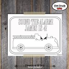 64 best fireman birthday printables images on pinterest tags