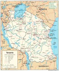 Detailed Map Of Africa by
