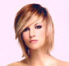 layered hair style with bangs two tone awesome