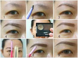 cara membuat alis dengan gel review nyx brow gel brunette tutorial