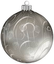 silver with ornaments png clipart image gallery