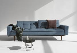 indigo leather sofa dublexo sofa bed in indigo by innovation w arms u0026 wood legs