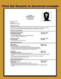 Create A Resume For Job by Examples Of Resumes Resume Example A For Job Format In 79