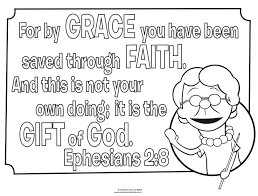 grace and faith coloring page bible operation child and