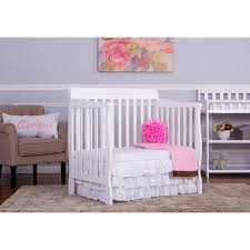Mini Crib White Why The On Me 4 In 1 Aden Convertible Mini Crib Can Handle