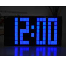 battery digital wall clock