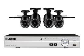 interior home surveillance cameras lorex lw84w wireless home security system featuring 4 outdoor