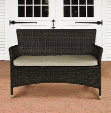 furniture scenic wicker rattan outdoor storage bench stronghigh