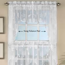 reef lace coastal tier window treatment