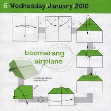 How Do You Make A Paper Boomerang - paper airplanes how to make a paper airplane for the big