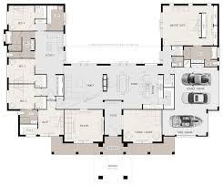5 bedroom floor plans u shaped 5 bedroom family home pinteres