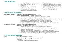 Nursing Skills List Resume Download Nursing Skills Resume Haadyaooverbayresort Com