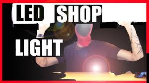 hyper tough led shop light hyper tough led shop light review and demonstration it s