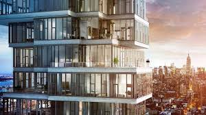 tribeca u0027s jenga tower sells its last pricey penthouses curbed ny
