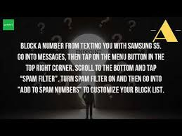 how do i block text messages on my android how do i block text messages on my galaxy s5