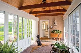 House Plans With Breezeway Preserving A Summer Home In Maine Breezeway Glass Panels And Porch