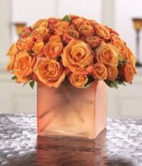 orange roses opulent orange roses at from you flowers
