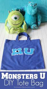 halloween treat bag craft diy monsters university trick or treat bag halloween tricks