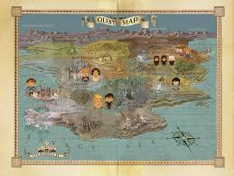 Fake Map For Good And Evil U0027 Is A Kids U0027 Fantasy Series For The Fake