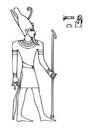 imagenes egipcias para imprimir dioses egipcios para colorear y para coronas faraonesl y alto isis