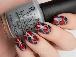 nail design grey nails gray glitter nail art design silver grey