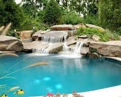 rock waterfalls for pools inground pool waterfall landlinkmontana org