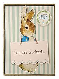 meri meri rabbit meri meri party invitations rabbit boxed