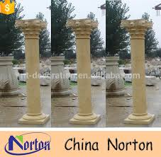 Decorative Concrete Pillars Natural Stone Indoor Decorative Concrete Columns Molds Ntmf C312a