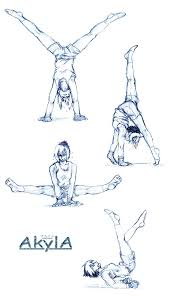 akyla training sketches by kayla chan on deviantart