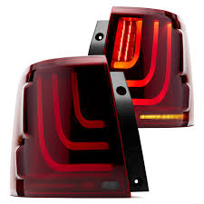 lexus gs430 led tail lights glohh gl 3 dynamic black red fiber optic led tail lights ebay