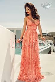 atmosphere rochii rochie de ocazie lungă atmosphere cu dantelă cu flori coton ro